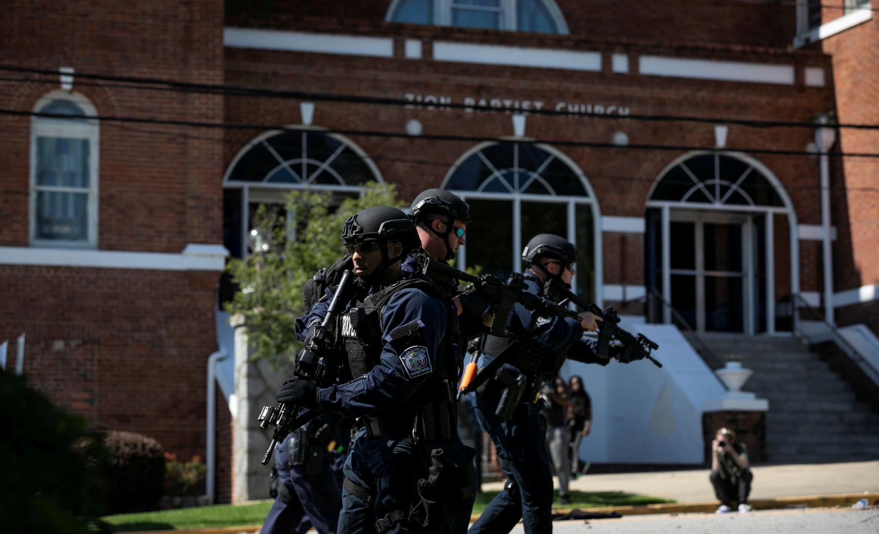 مقتل 5 أشخاص بإطلاق النار في ولاية ساوث كارولينا الأمريكية
