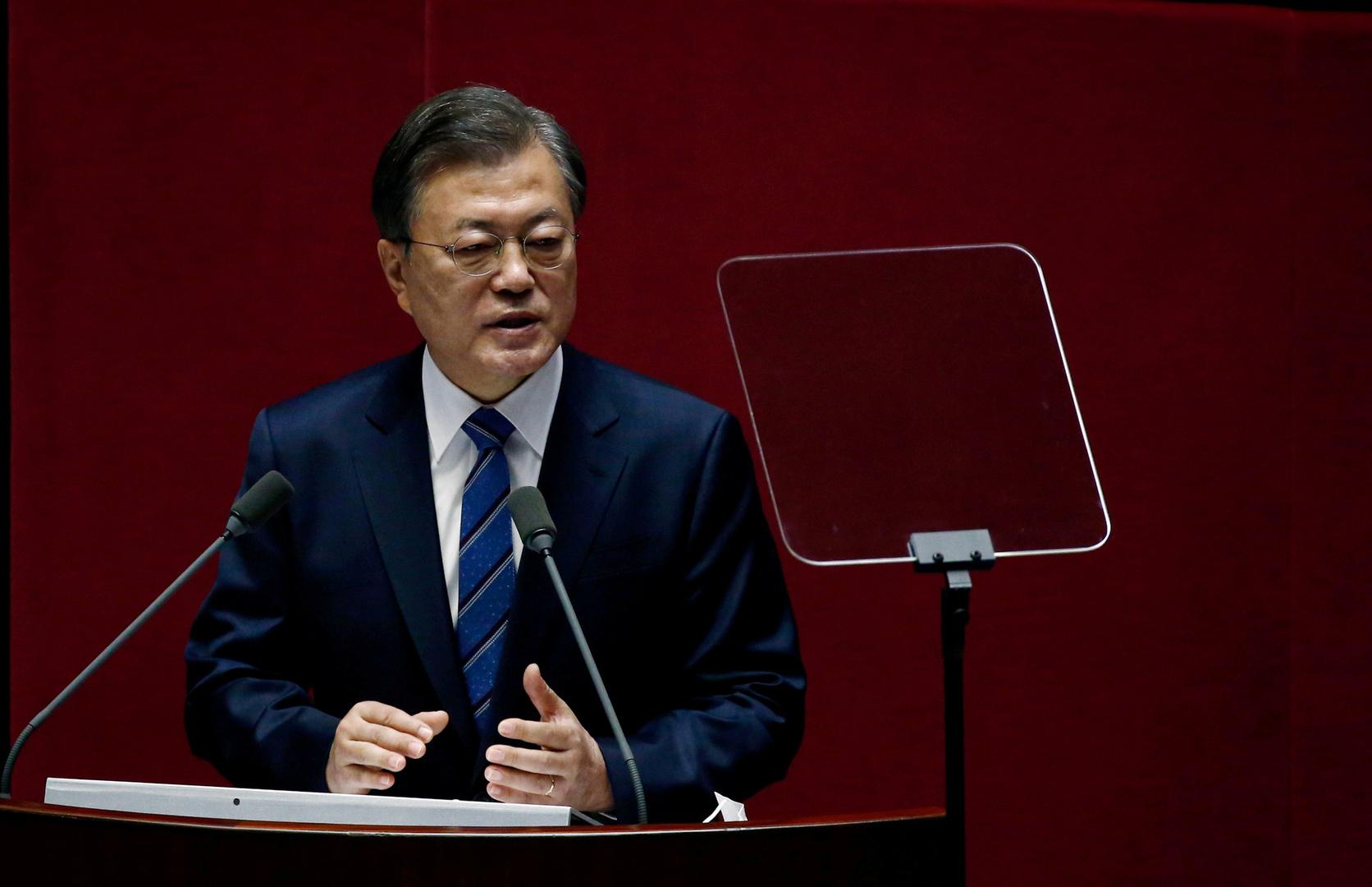 الرئيس الكوري الجنوبي، مون جيه إن