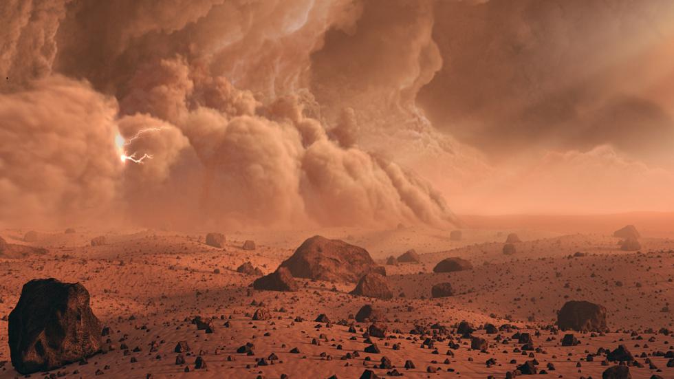 ناسا تشارك تقرير الطقس الأول لمركبة المريخ