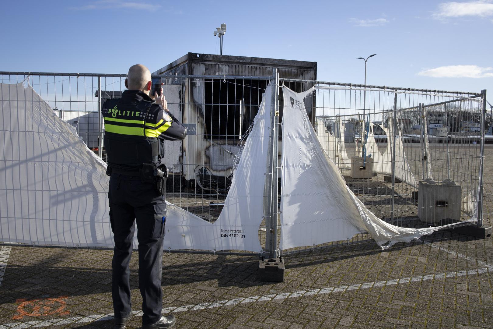 الشرطة الهولندية توقف رجلا دبر لمهاجمة مركز تطعيم ضد كورونا