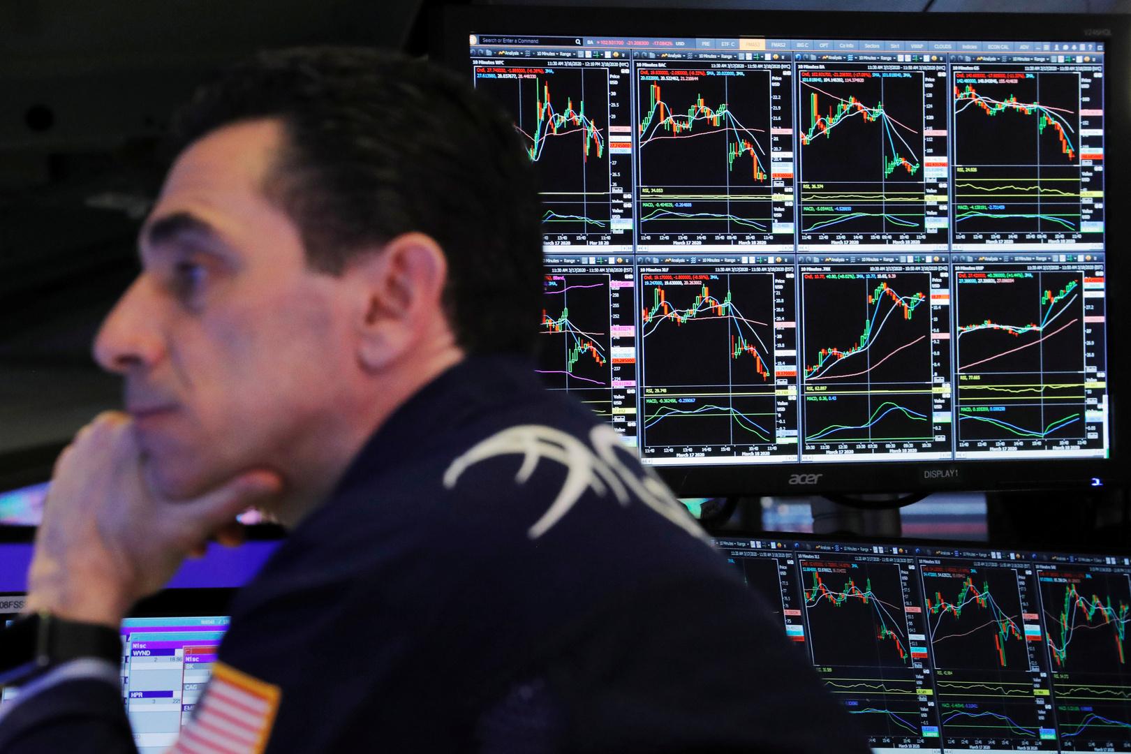 ذروة قياسية لمؤشر البورصة الأمريكية