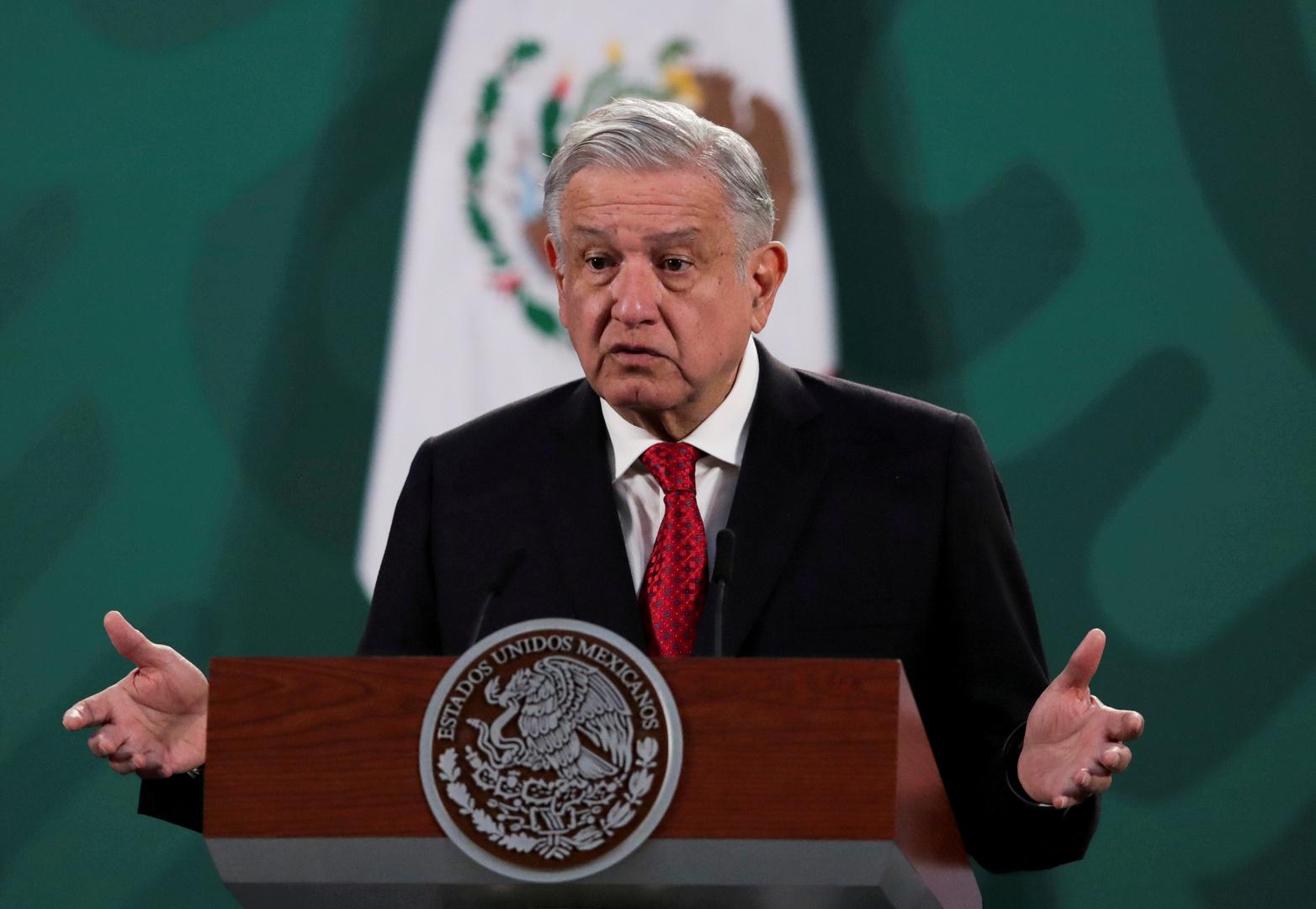 رئيس المكسيك يعلن أنه سيتلقى لقاح