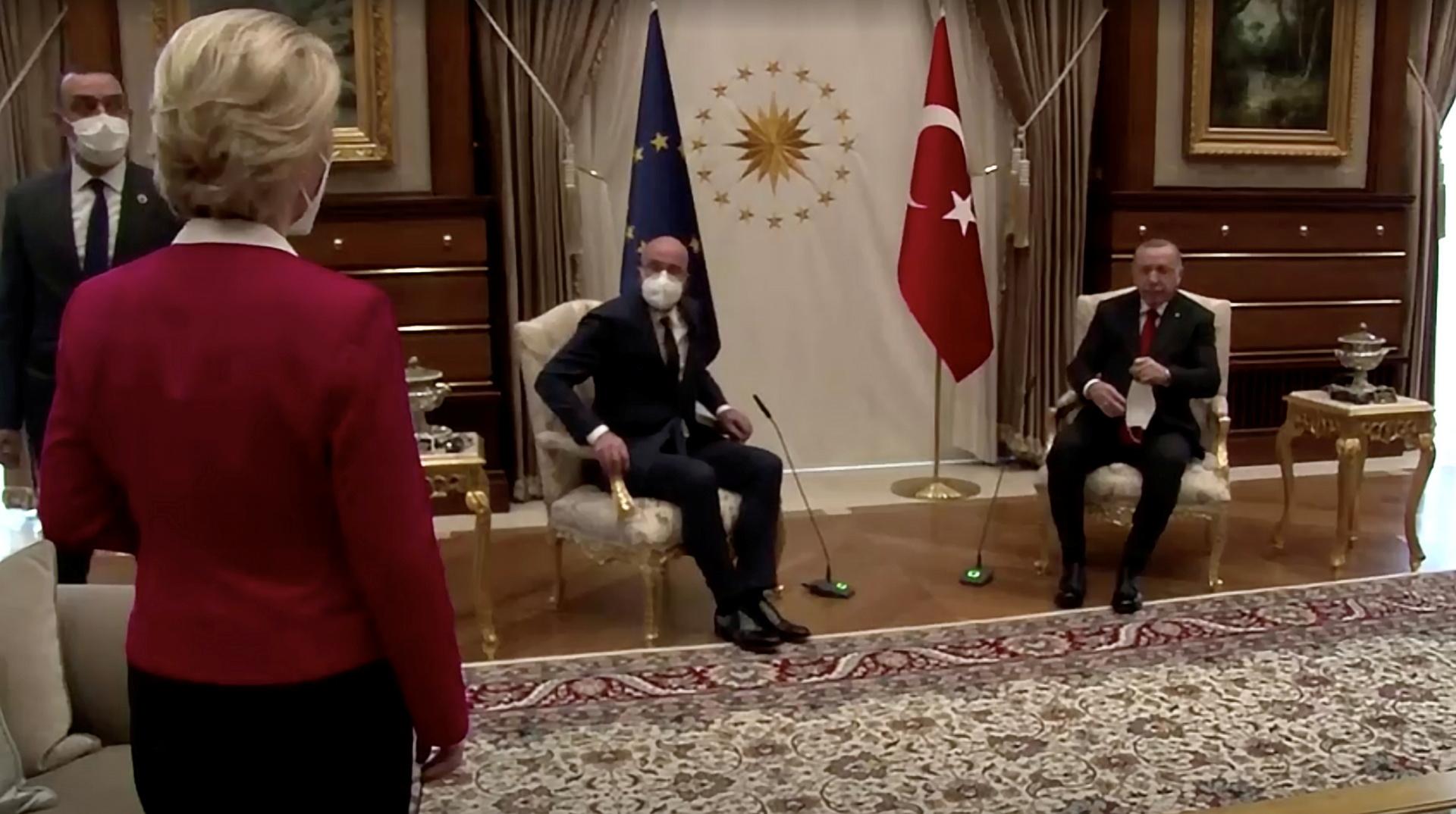 دراغي يتهم أردوغان بإهانة رئيسة المفوضية الأوروبية ويصفه بـ