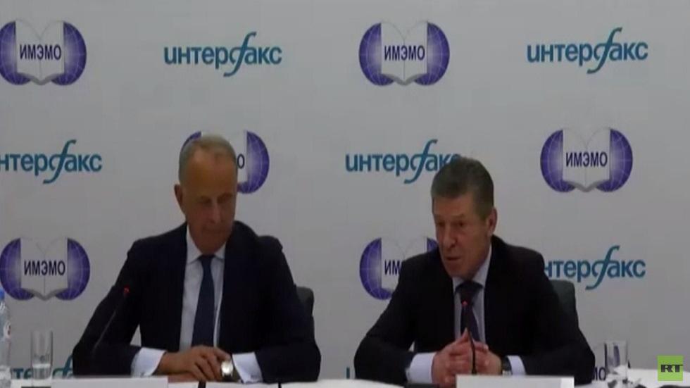 موسكو: أي حرب بدونباس ستعني نهاية أوكرانيا