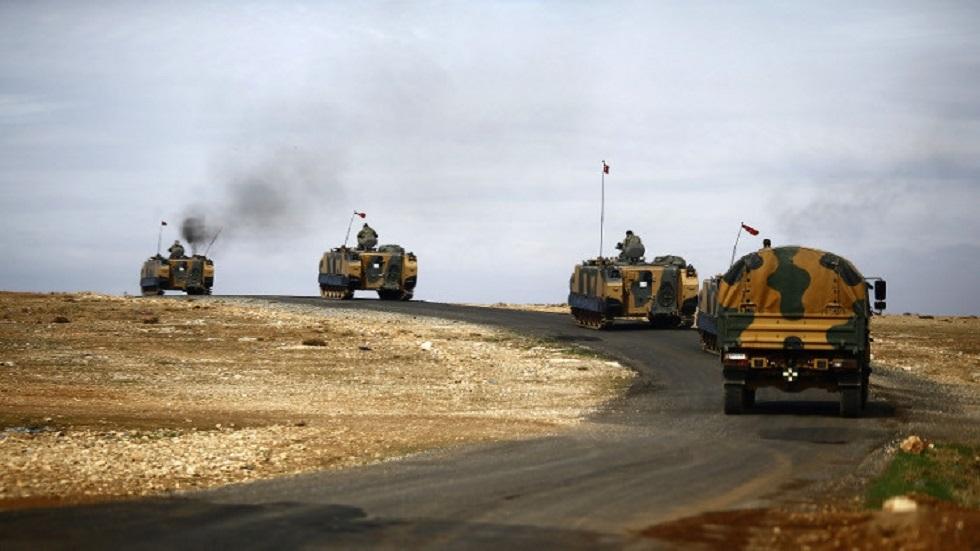 الجيش التركي في مناطق شمالي سوريا