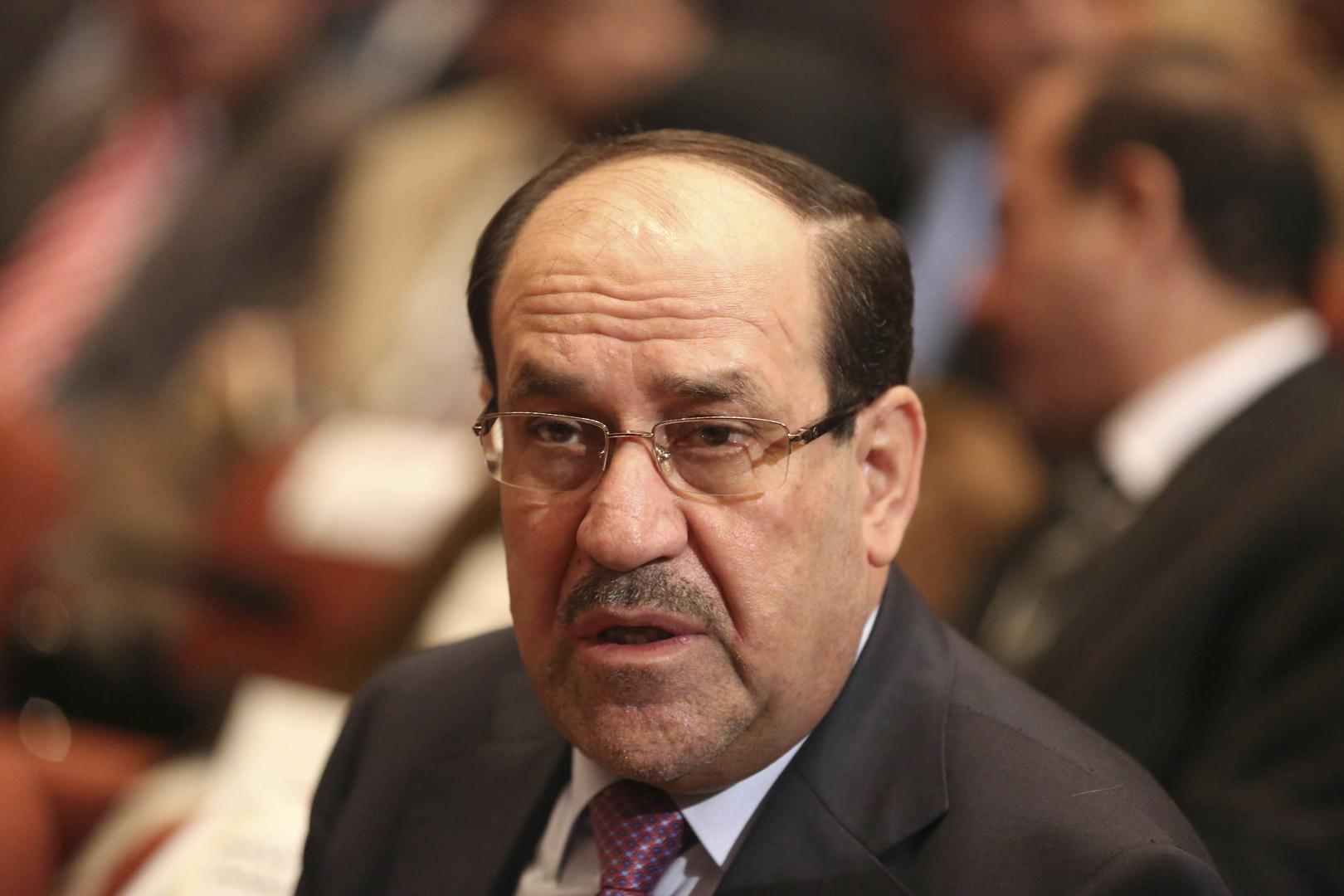 الأمين العام لحزب الدعوة الاسلامية نوري المالكي