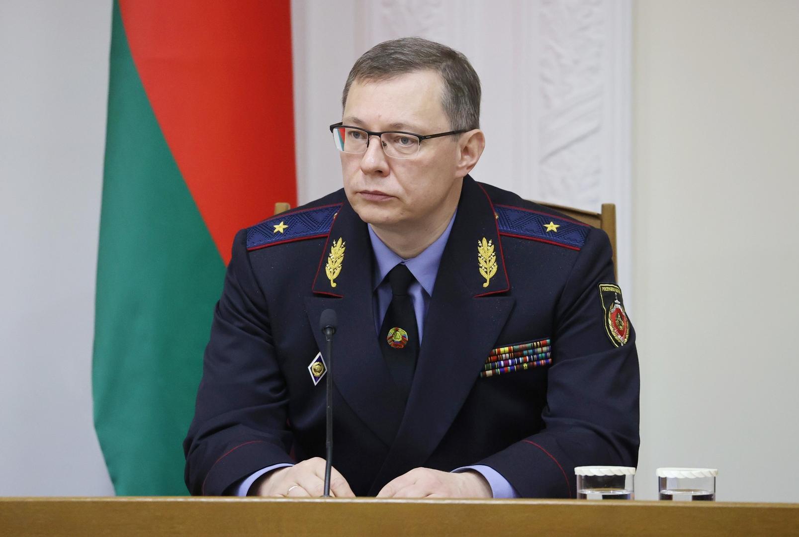 بيلاروس تفتح قضية بشأن