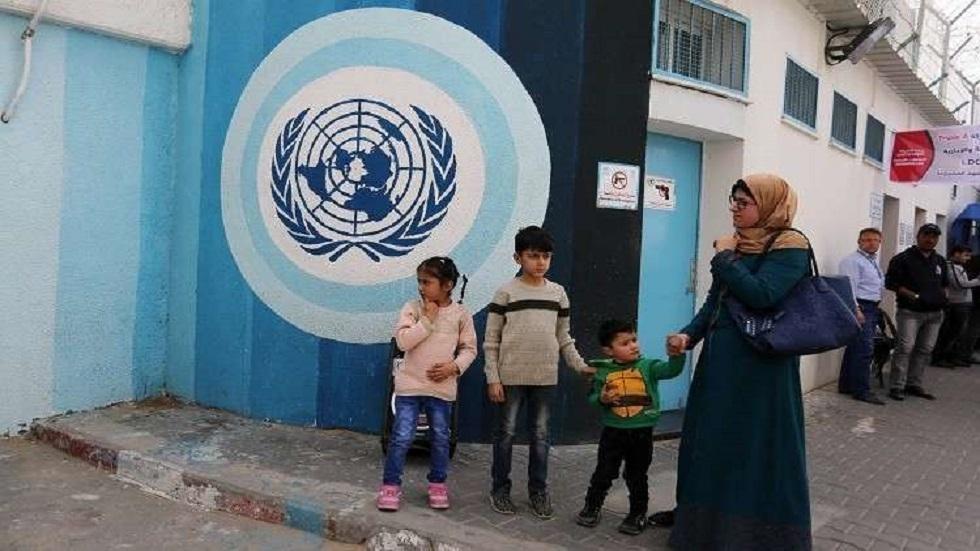 مدرسة تابعة للأونروا في قطاع غزة - أرشيف