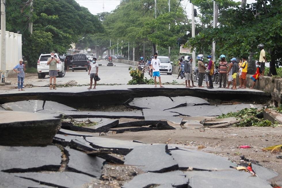 إعصار جديد يهدد إندونيسيا