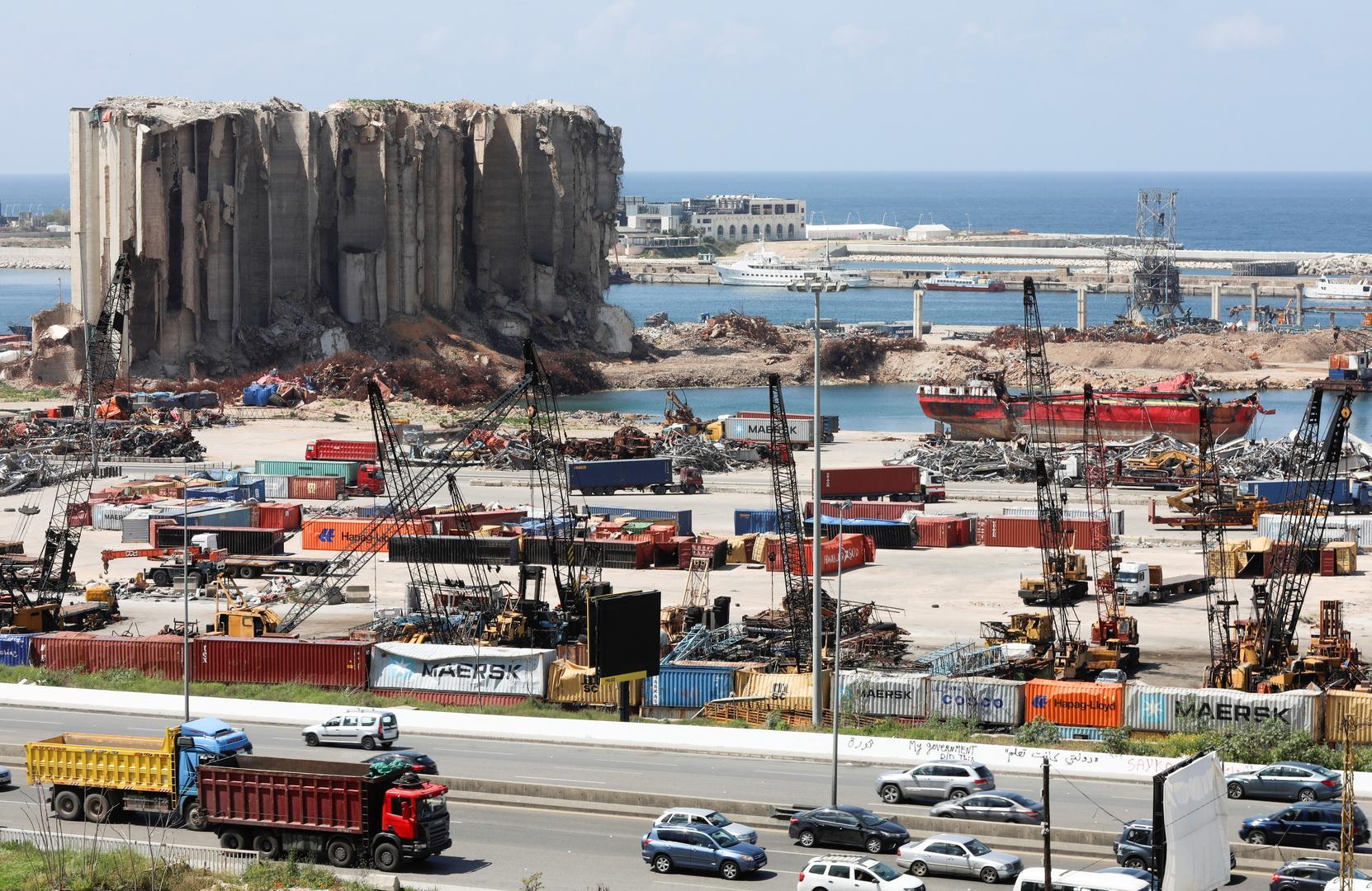 شركات ألمانية تعرض خططها لإعادة إعمار مرفأ بيروت