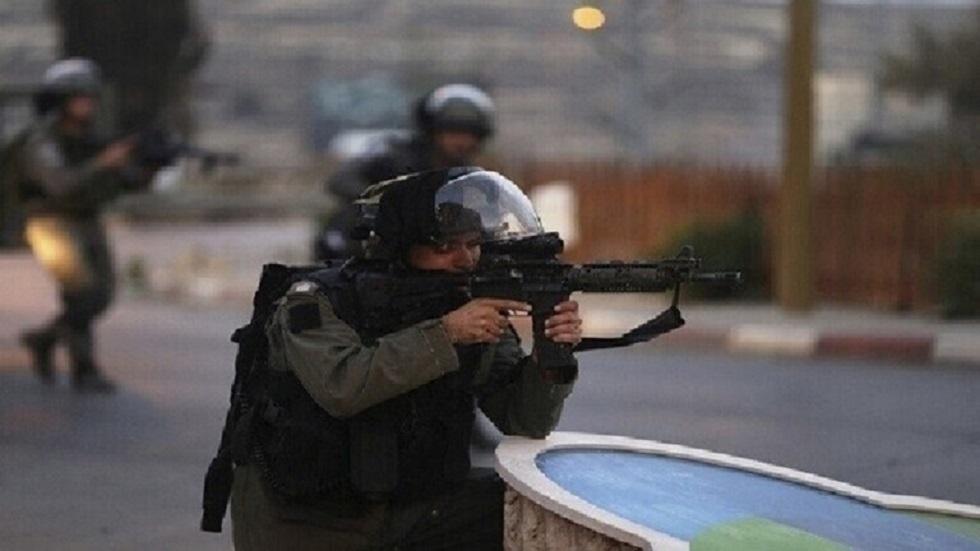 الجنود الإسرائيليون في الخليل بالضفة الغربية - أرشيف