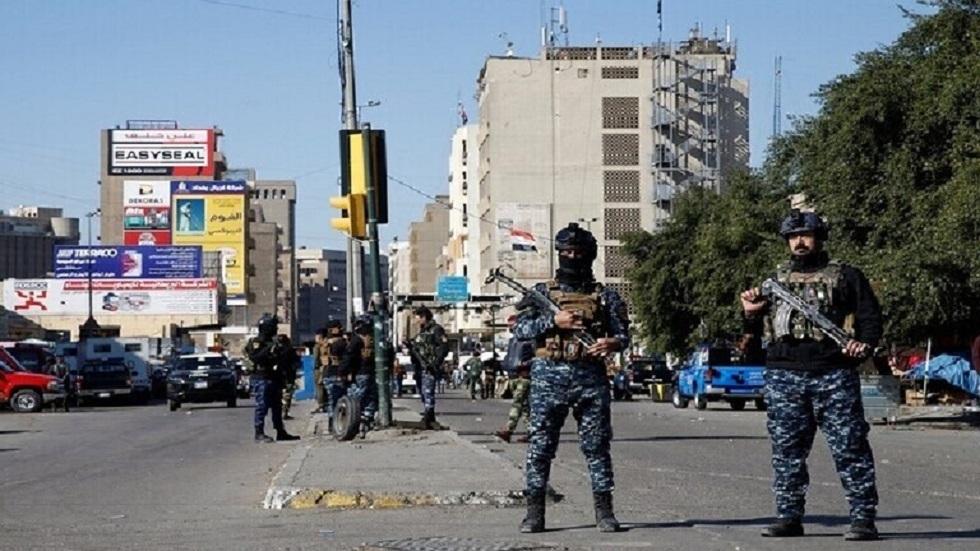 القوات الأمنية العراقية في بغداد - أرشيف