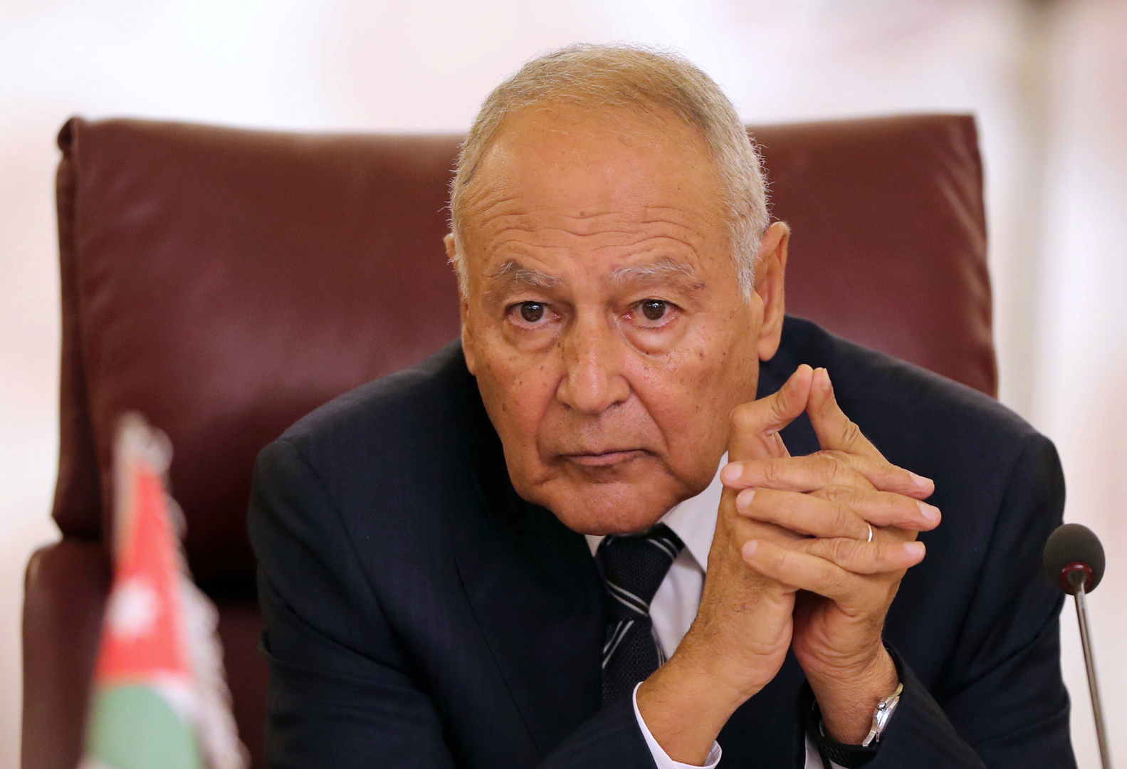 أبو الغيط من بغداد: الجامعة العربية تحت إمرة العراق بما يؤمن مصالحه