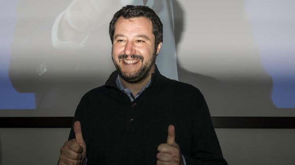 ماتيو سالفيني زعيم الجناح اليميني