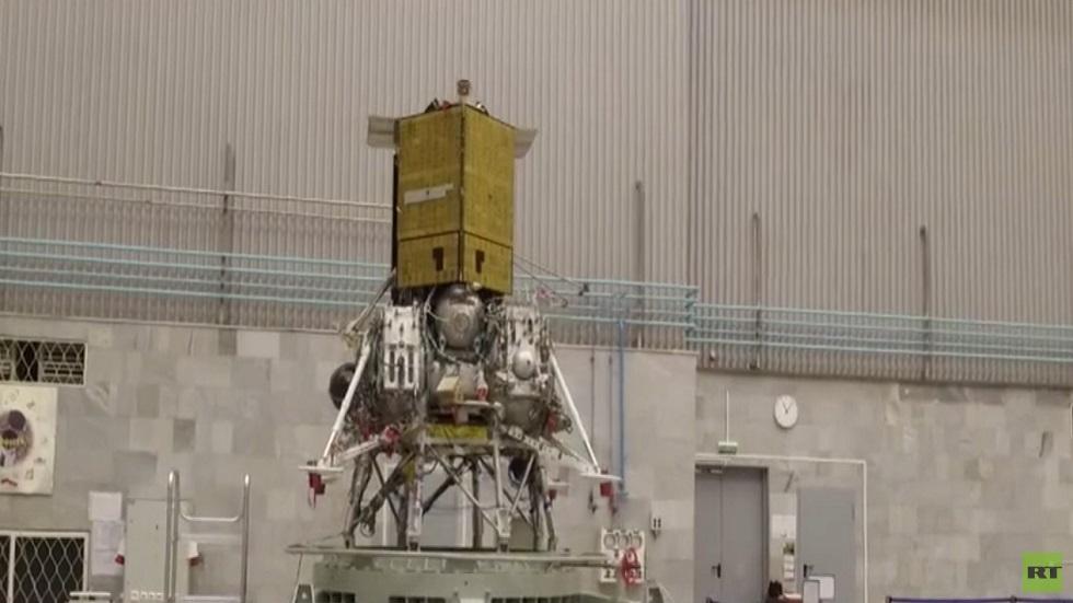 روسيا تستعد لإطلاق مركبة غير مأهولة للقمر
