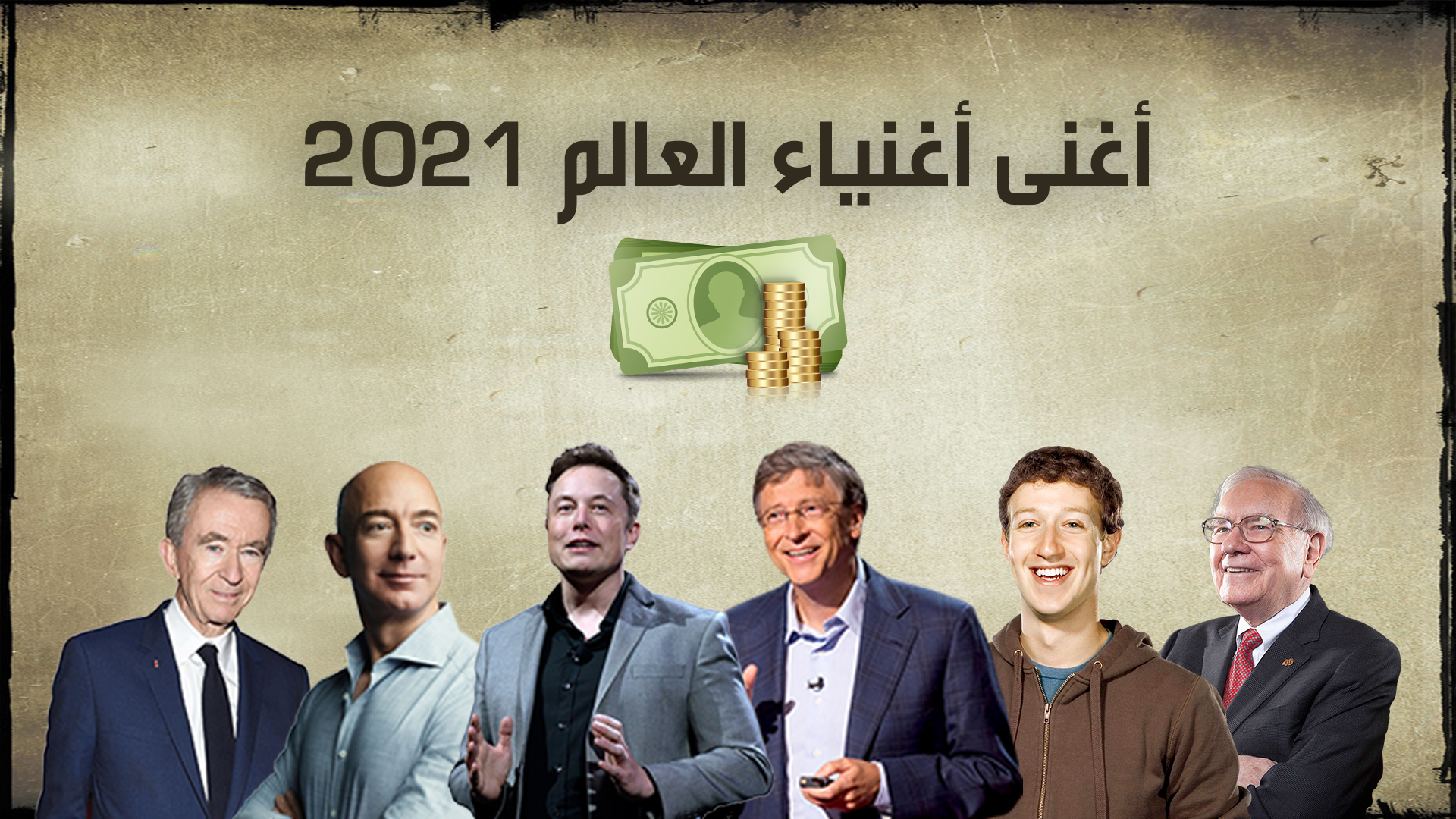 أغنى أغنياء العالم 2021