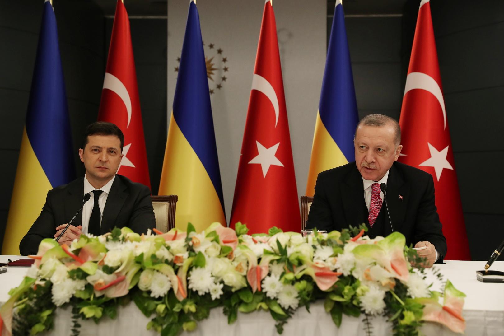 بيان أوكراني تركي مشترك يدعم آفاق انضمام كييف للناتو