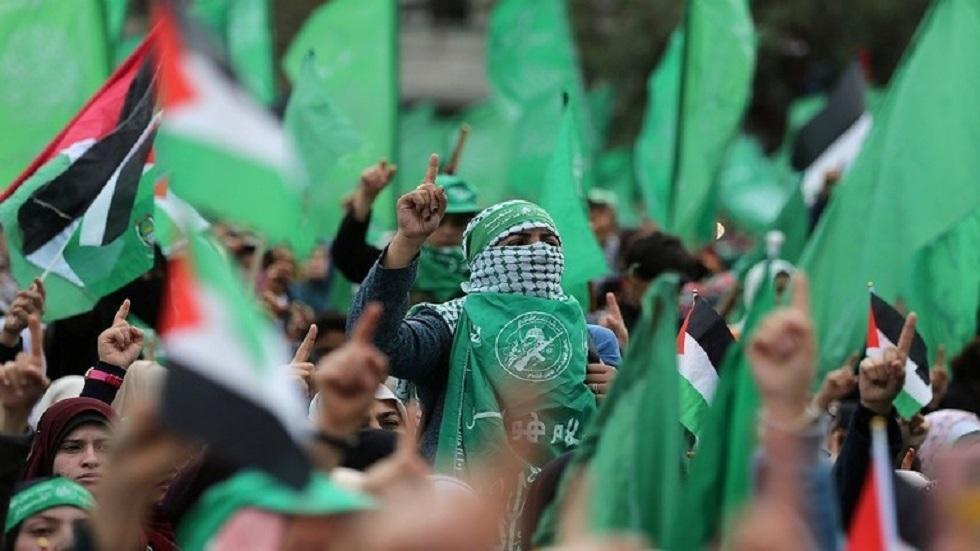 أنصار حركة حماس الفلسطينية في قطاع غزة - أرشيف