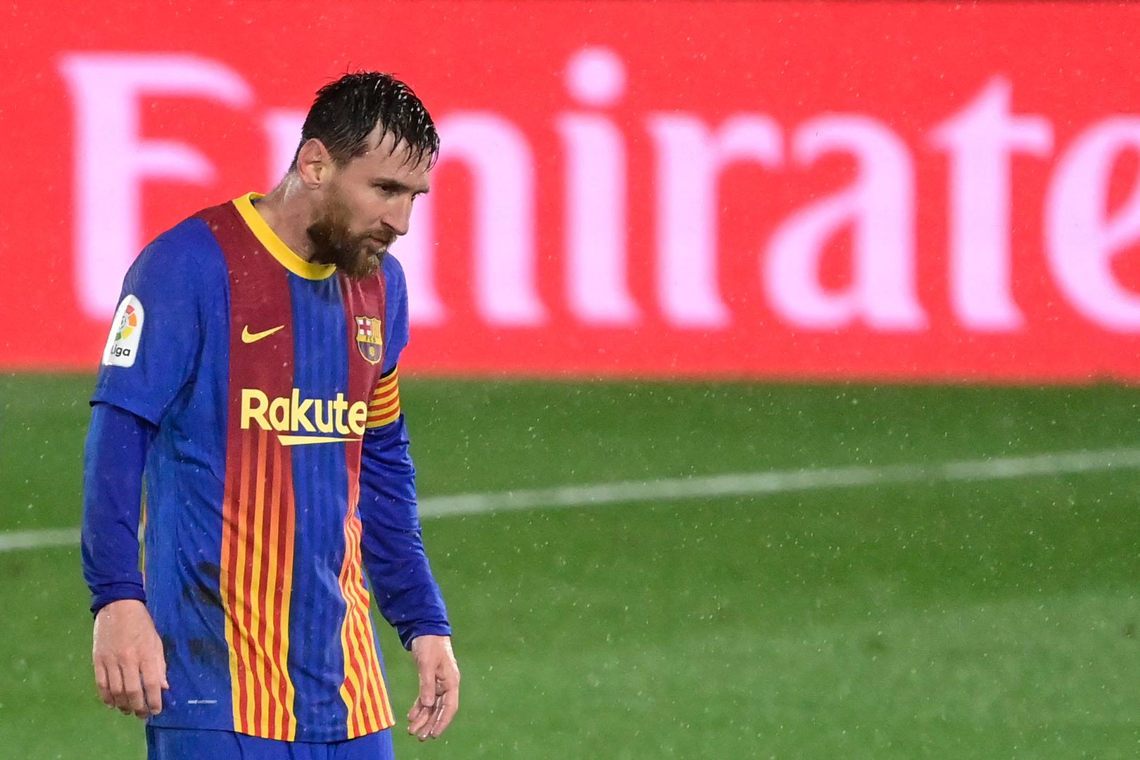 بعد الهزيمة أمام ريال مدريد.. ميسي يسجل رقما سلبيا