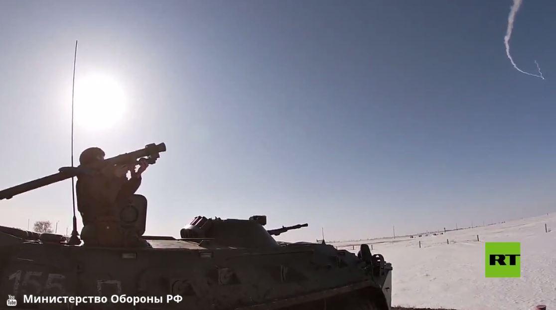 وزارة الدفاع الروسية تنشر فيديو لصد هجوم جوي في أورنبورغ