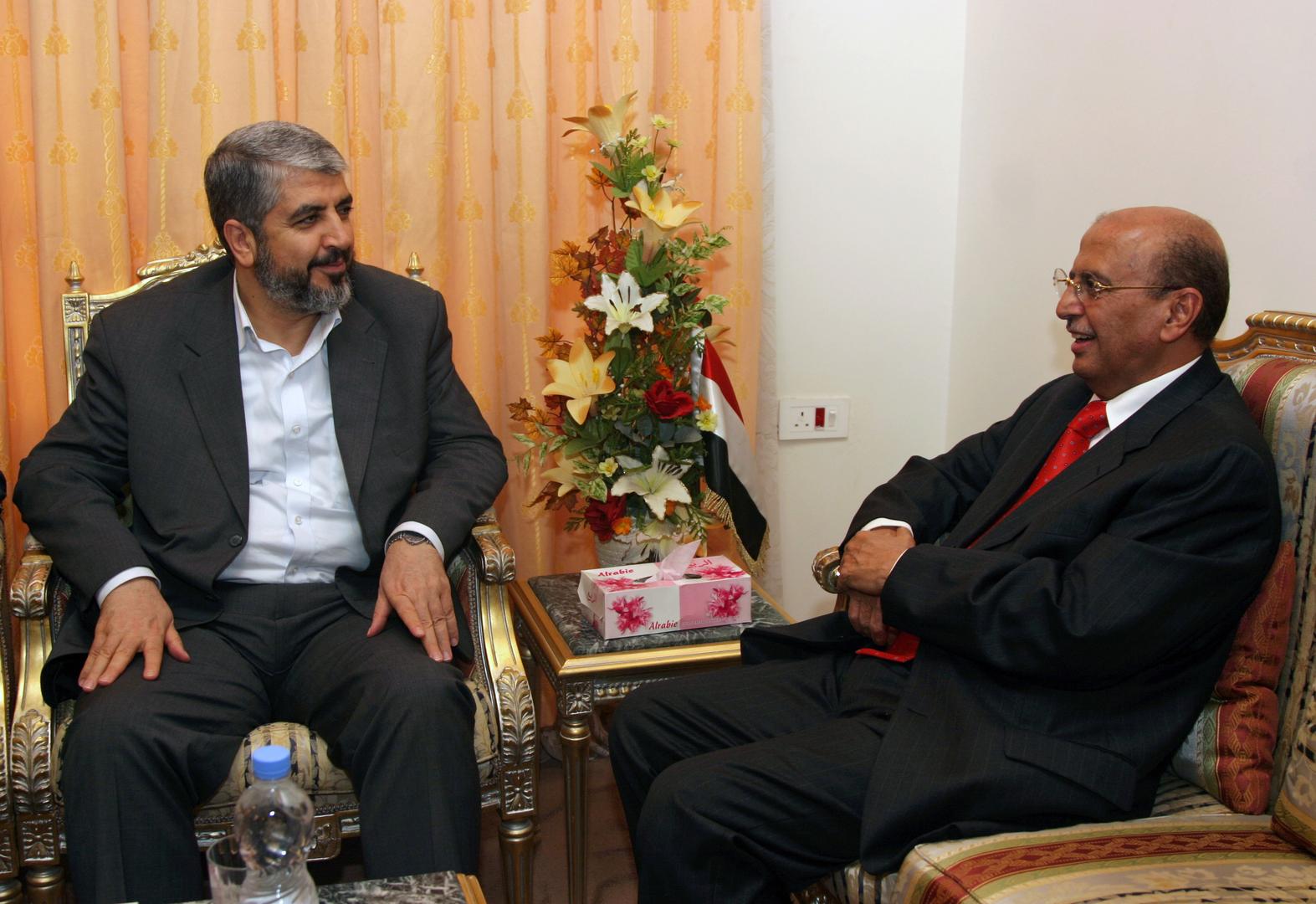 انتخاب خالد مشعل رئيسا لإقليم الخارج في