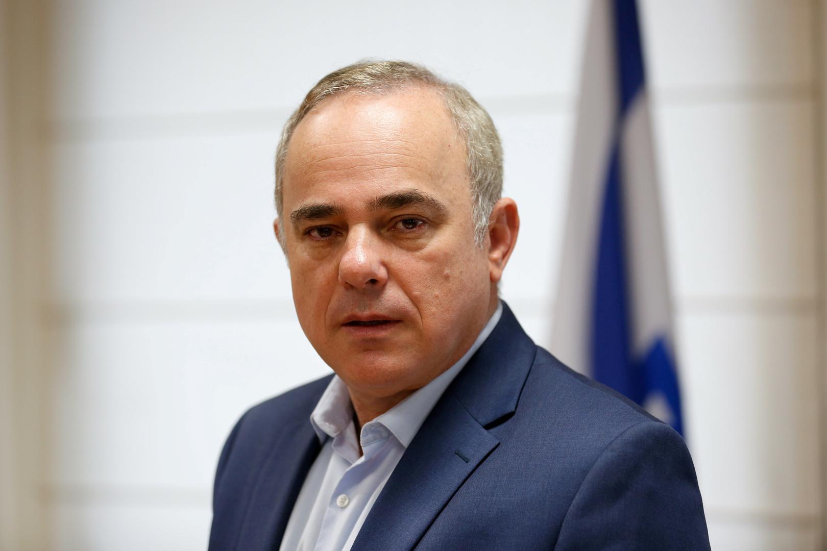 وزير الطاقة الإسرائيلي يوفال شتاينيتز