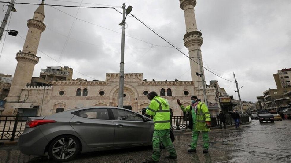 مسجد الملك الحسين بن طلال في العاصمة الأردنية عمان