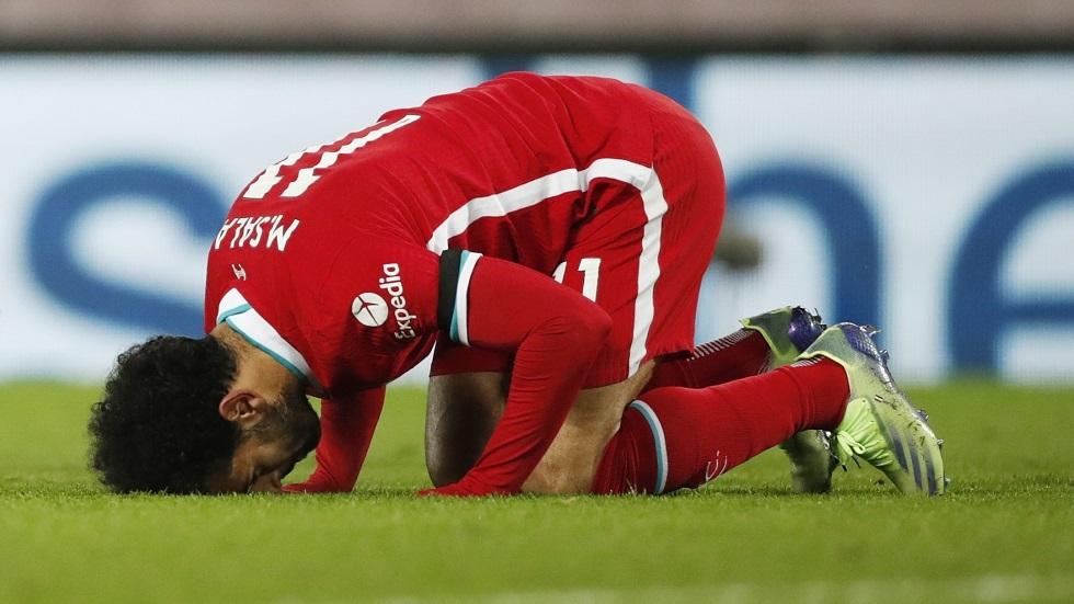 محمد صلاح يحتفل بشهر رمضان (صورة)