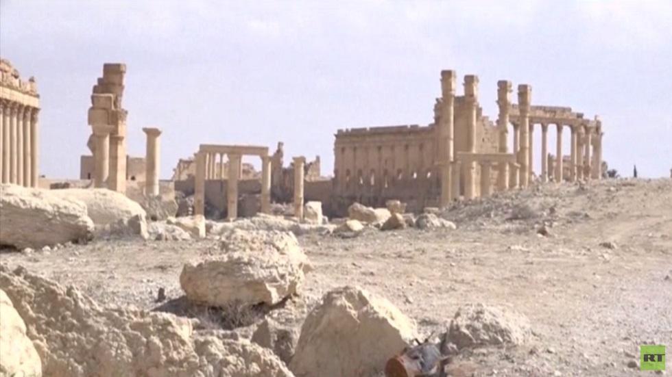 مشروع لترميم وإعادة رفع قوس النصر التدمري