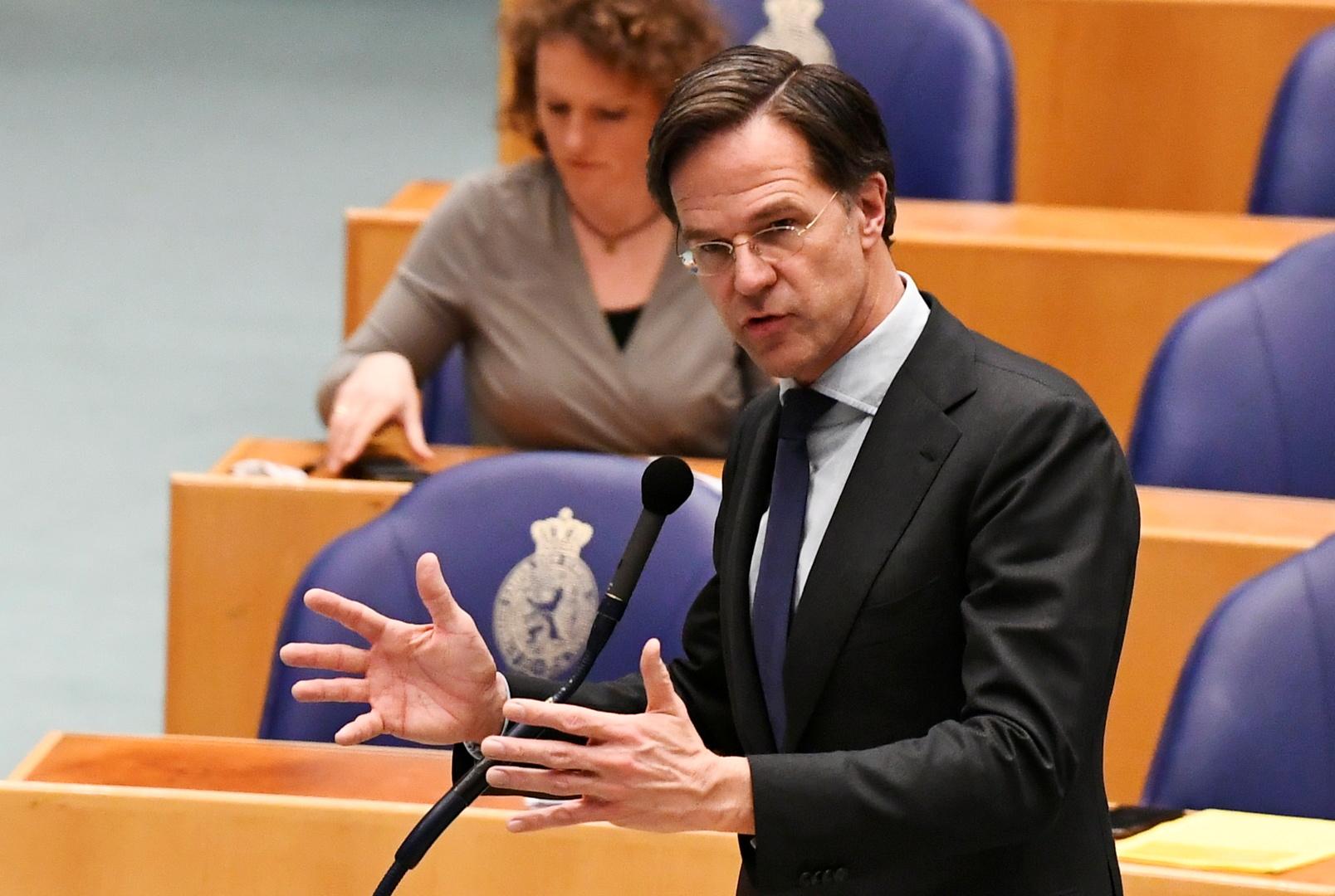 رئيس الوزراء الهولندي مارك روتي
