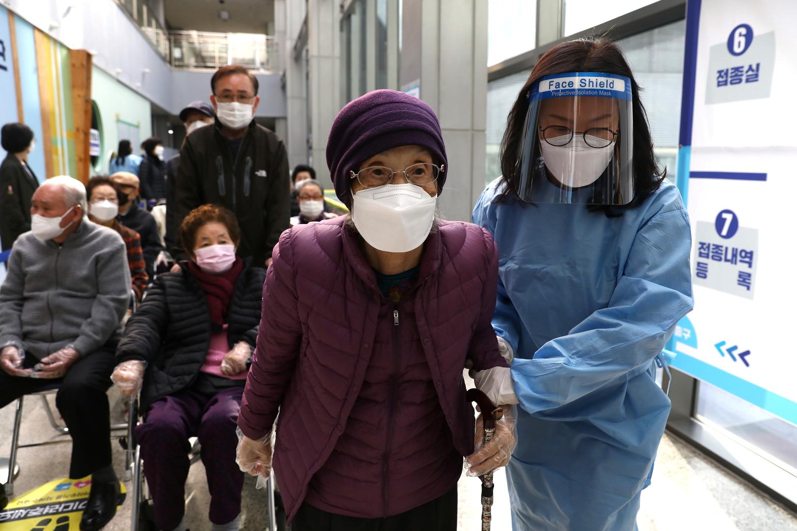 كوريا الجنوبية تسجل 731 إصابة جديدة بفيروس كورونا