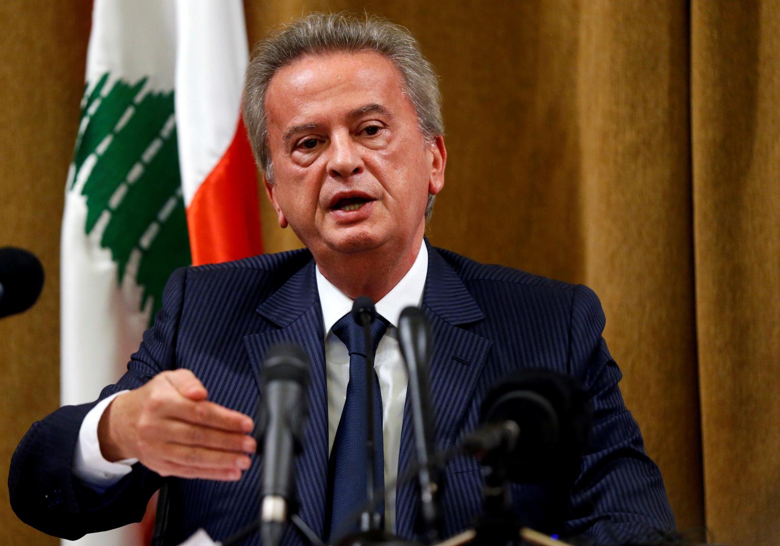حاكم مصرف لبنان المركزي رياض سلامة
