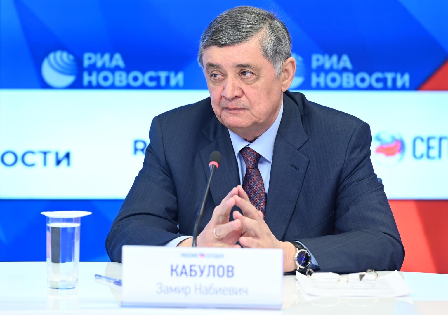 كابولوف: روسيا تلقت دعوة لحضور مؤتمر حول أفغانستان في اسطنبول
