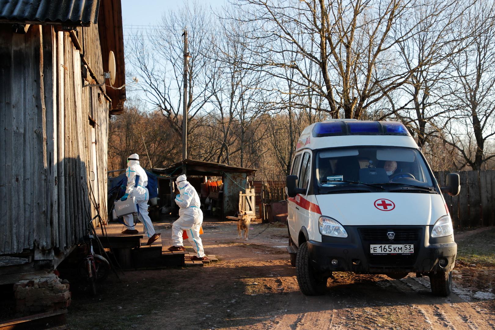 روسيا تسجل قرابة 400 وفاة و8.3 ألف إصابة بكورونا خلال 24 ساعة