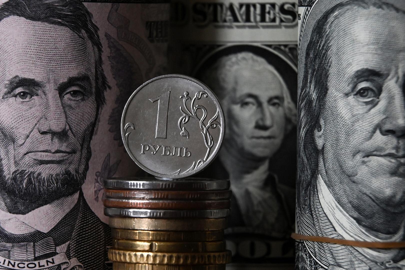 ارتفاع بورصة موسكو وتعافي العملة الروسية