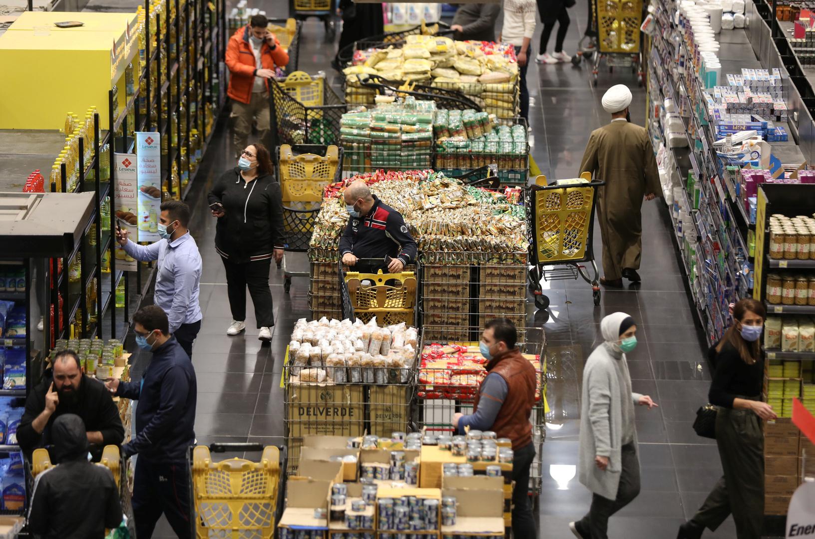 سوبر ماركت في لبنان