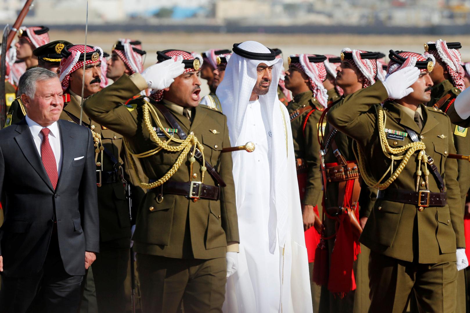 الأردن والإمارات يوقعان اتفاقا في مجال الصناعات العسكرية