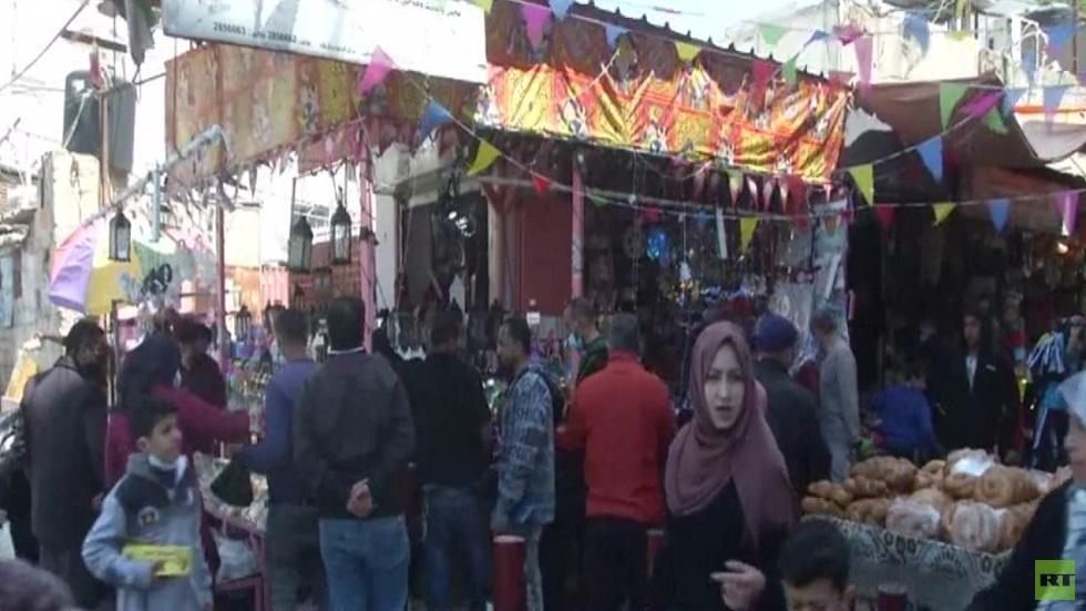 غزة.. استقبال لرمضان رغم الحصار