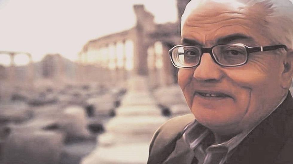 عالم الآثار السوري الراحل خالد الأسعد