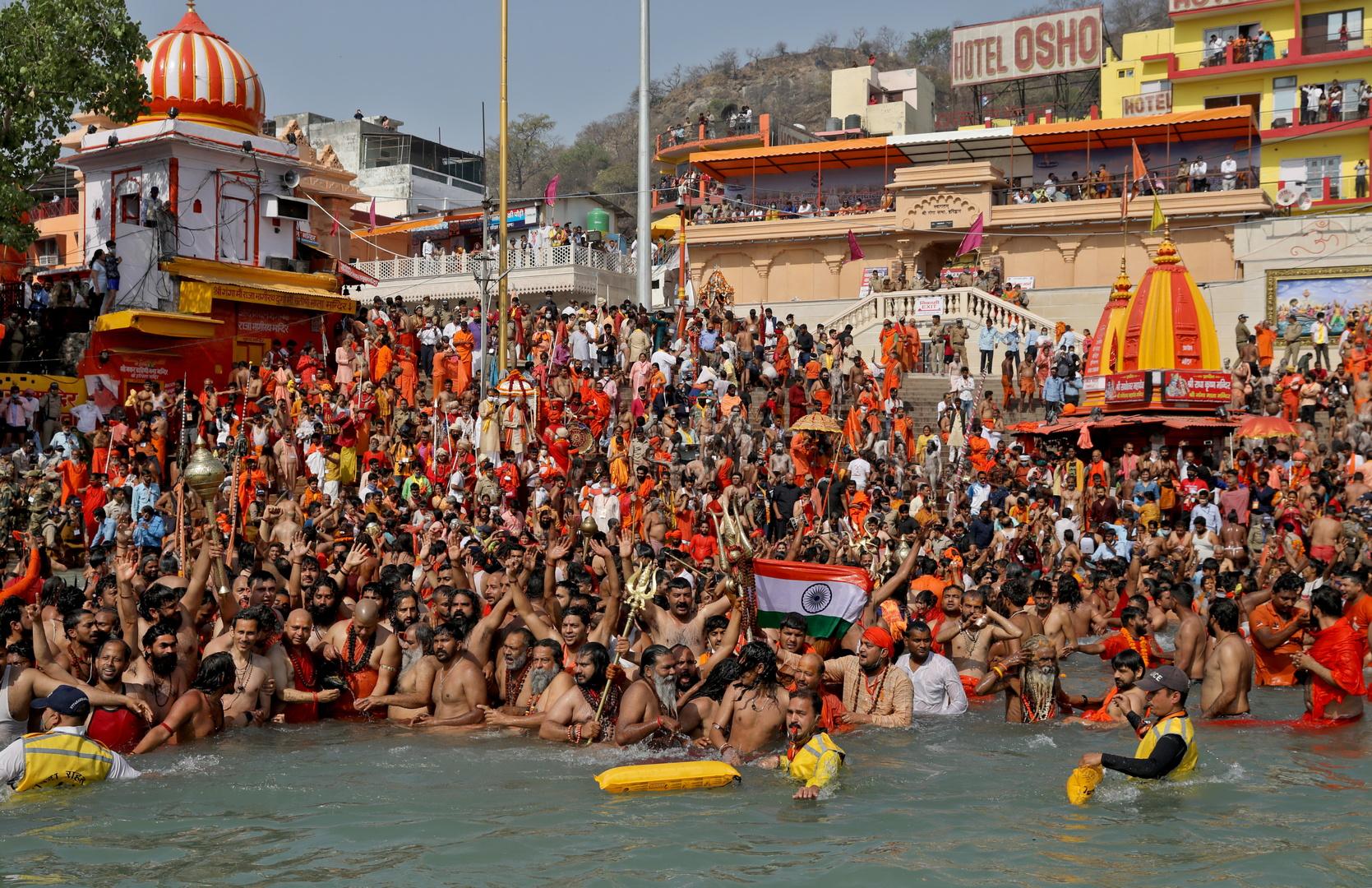 الهند.. أكثر من ألف إصابة بكورونا بعد احتفال ديني