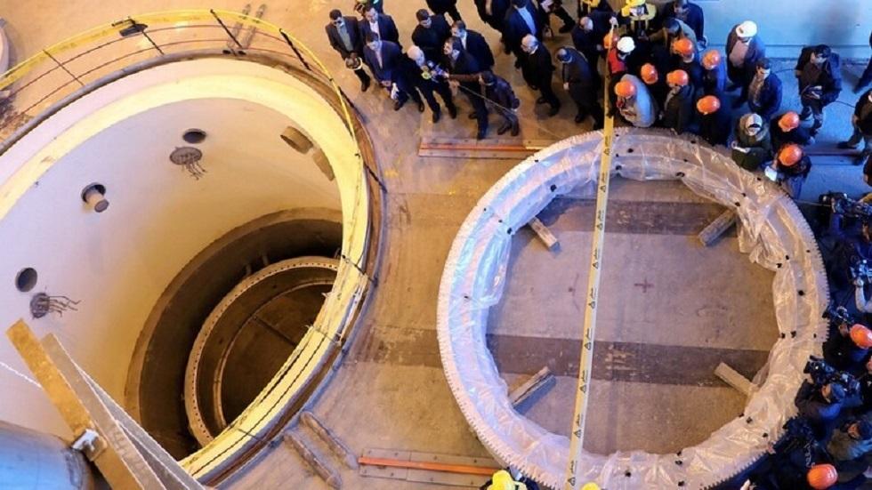 مفاعل المياه الثقيلة في منشأة