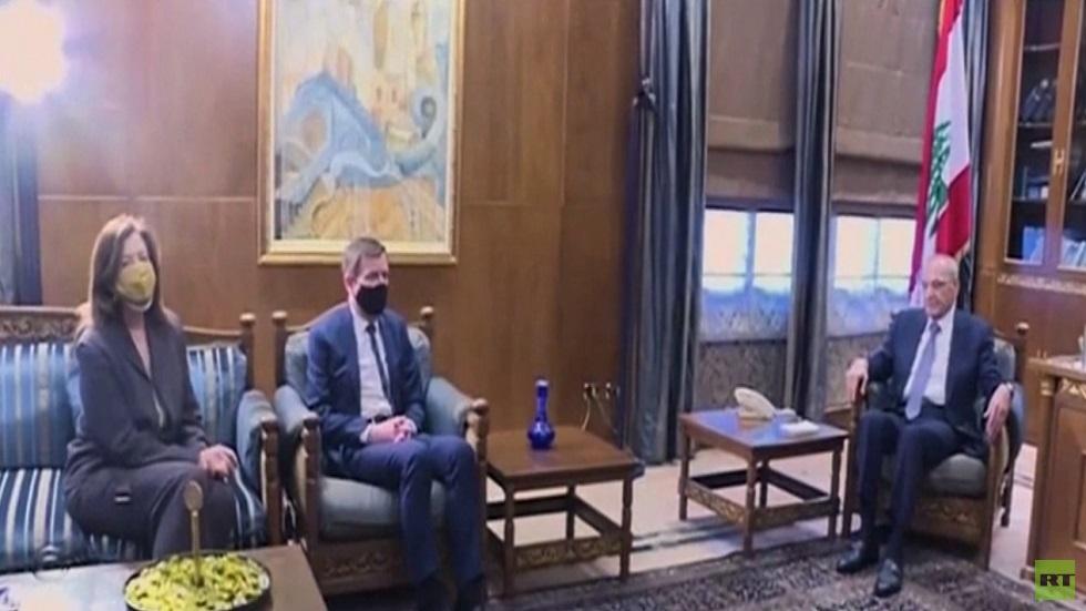 مبعوث واشنطن يدعو لتشكيل حكومة لبنانية