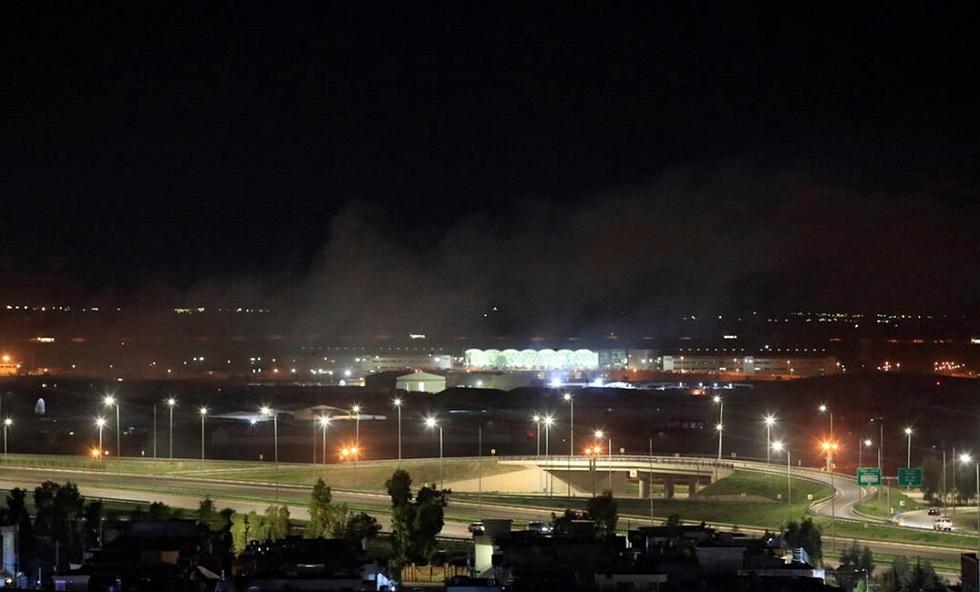 مراسل RT:  قصف صاروخي يستهدف مطار أربيل في كردستان العراق