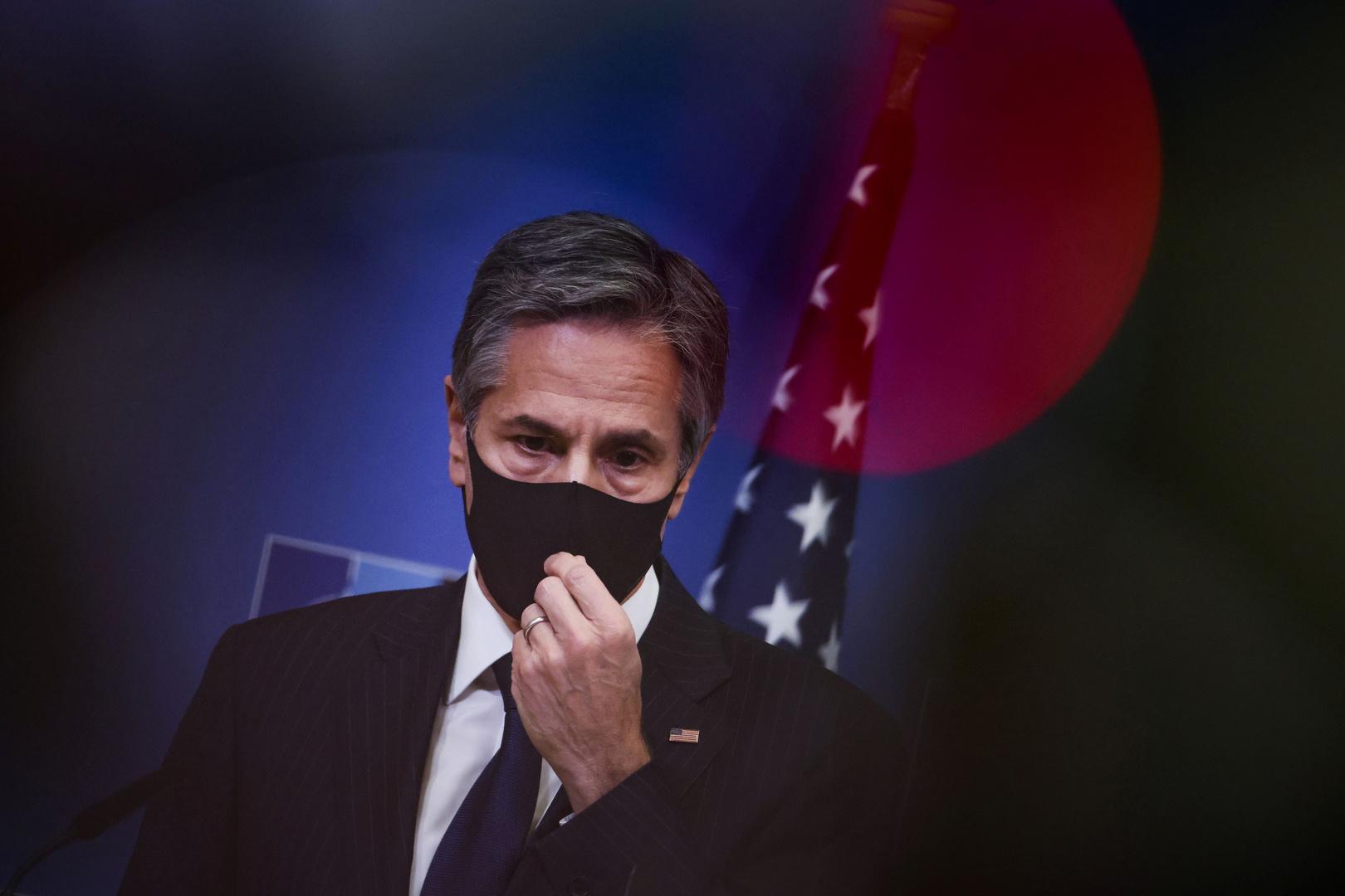 بلينكين: إعلان إيران عن تخصيب اليورانيوم