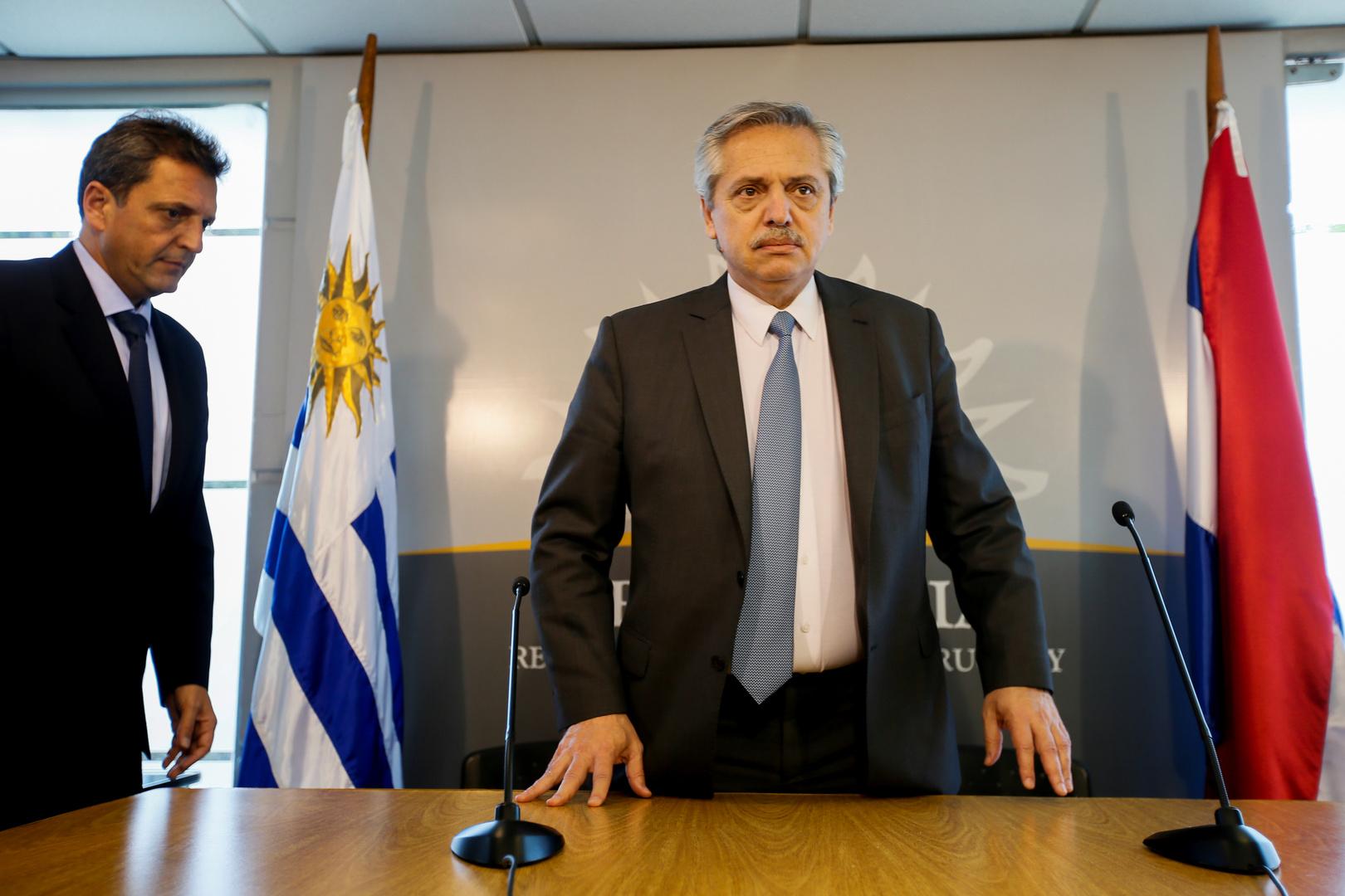 رئيس الأرجنتين يشيد بلقاح