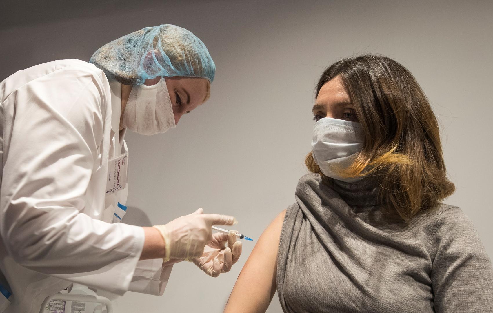 تلقيح أكثر من مليون شخص ضد فيروس كورونا في موسكو