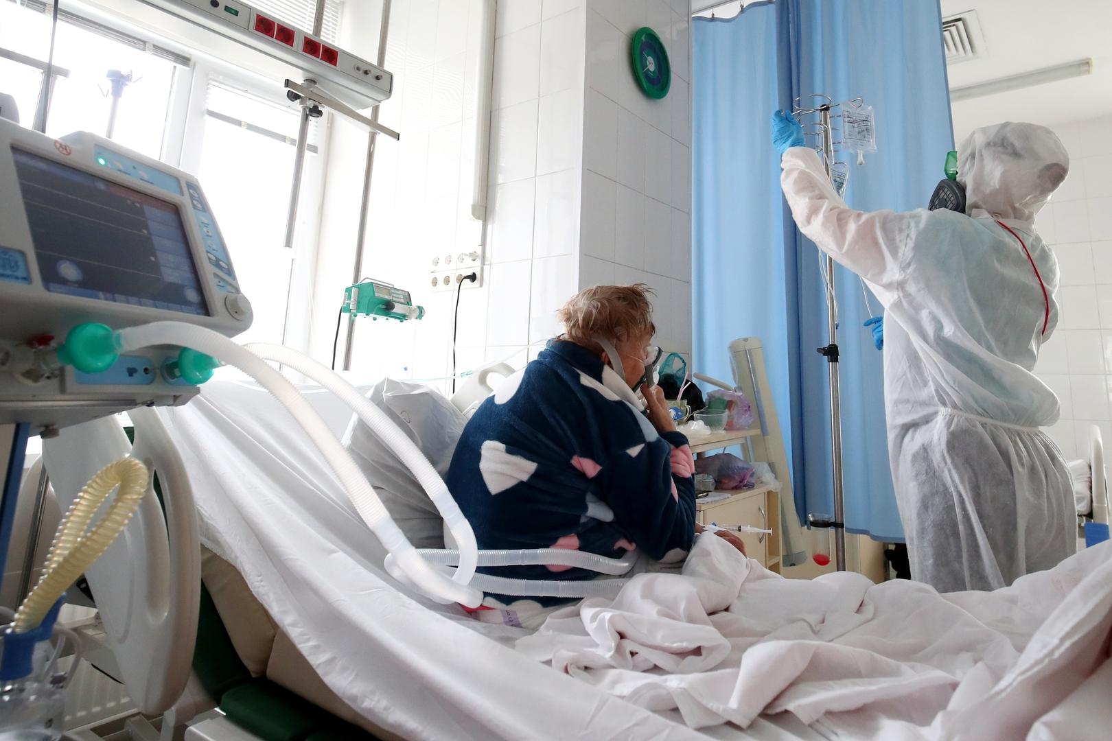 روسيا تسجل 398 وفاة و8944 إصابة جديدة بفيروس كورونا خلال 24 ساعة