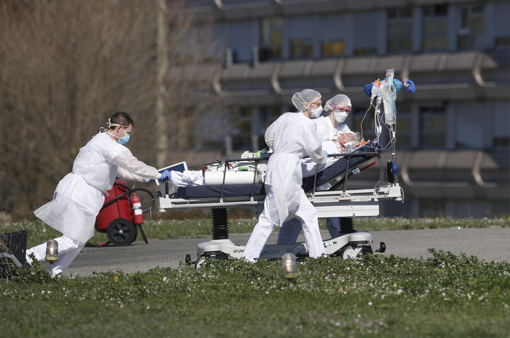 فرنسا.. حصيلة ضحايا كورونا تقترب من 100 ألف حالة وفاة