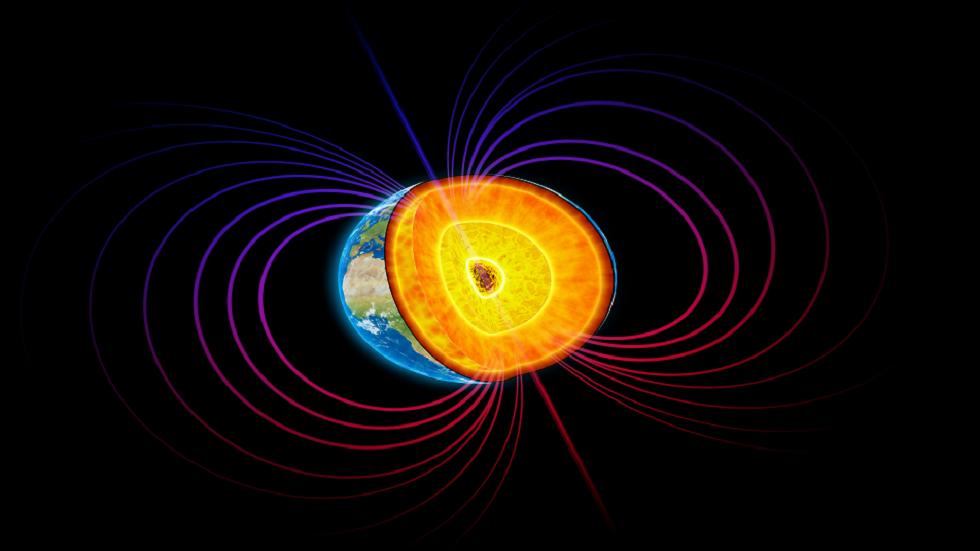 بقايا كوكب قديم مدفونة داخل الأرض قد تكون سبب حدوث ضعف في المجال المغناطيسي!