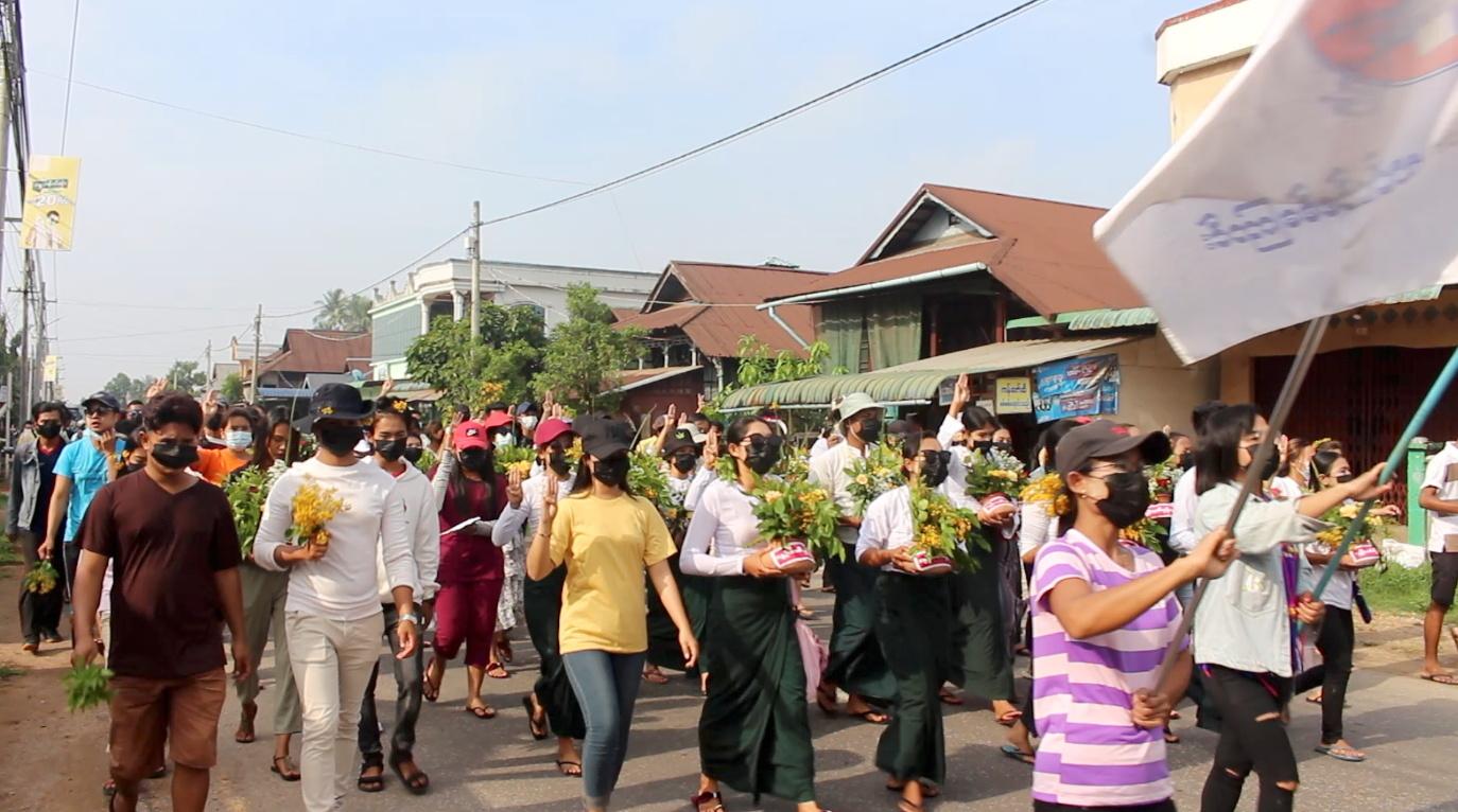 معارضو المجلس العسكري في ميانمار يشكلون حكومة وحدة وطنية
